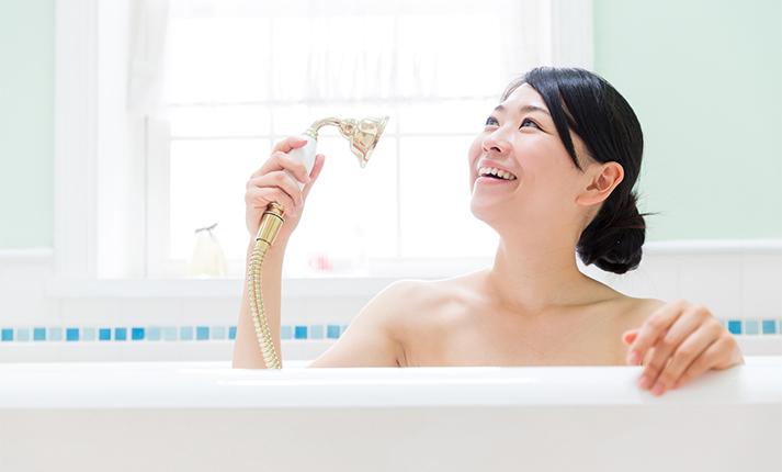 シャワーの水圧が弱くなった…シャワーヘッドの目詰まり解消法