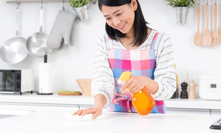 エコで節約!身体にやさしい手作りキッチン用洗剤レシピ
