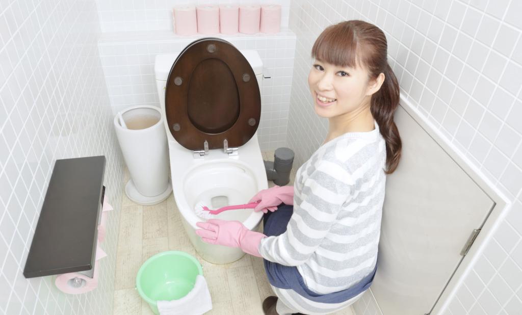 実は汚い?!トイレタンクをきれいにする掃除術