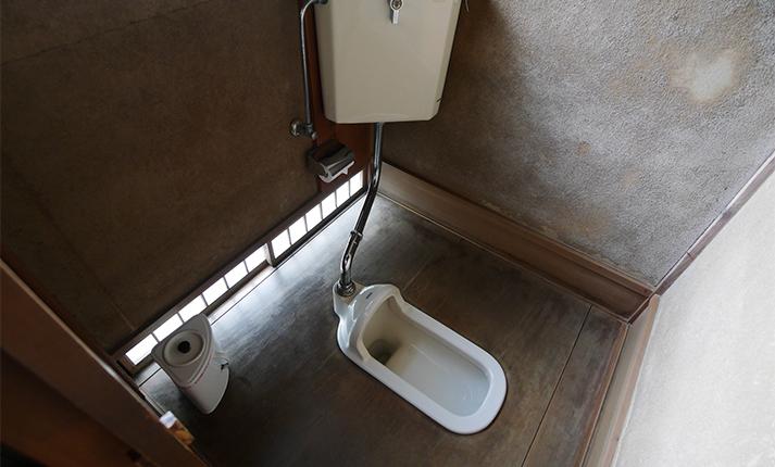 こびりついた汚れをキレイに!和式トイレの掃除方法